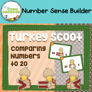 Turkey Scoot: Comparing Numbers Up to 20