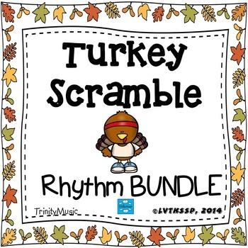 Turkey Scramble Race (BUNDLE)