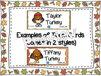 Turkey Scramble Rhythm Race (Half Note)