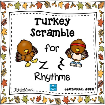 Turkey Scramble Rhythm Race (Rest)