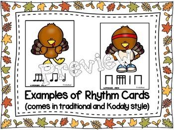 Turkey Scramble Rhythm Race (Sixteenth Notes)