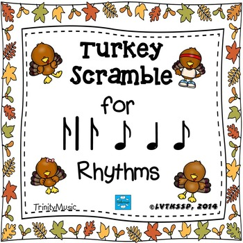 Turkey Scramble Rhythm Race (Syncopa)