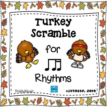 Turkey Scramble Rhythm Race (Ti-Tika)