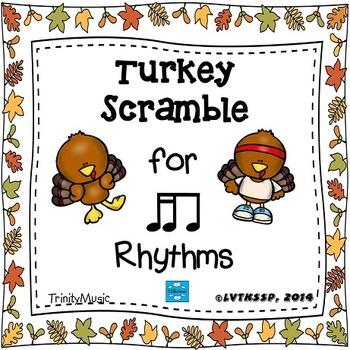 Turkey Scramble Rhythm Race (Tika-Ti)