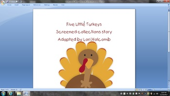 Turkey Screened Collection for Subtraction