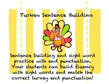 Turkey Sentence Building