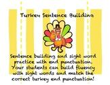 Turkey Sentence Building