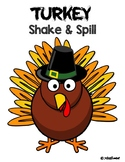 Turkey Shake and Spill Math Game - Composing/Decomposing