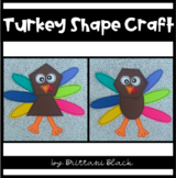 Turkey Shape Craft