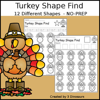 Turkey Shape Find