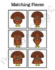 Turkey Shape Match File Folder Game for students with Autism