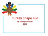 Turkey Shape Poem and Graph