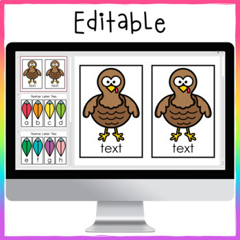 Turkey Sight Word Center