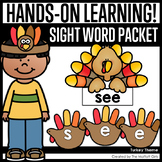 Turkey Sight Word Packet