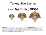 Turkey Size Sorting