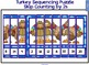 Turkey Smartboard Freebie - Skip Counting by 2 Sequencing Puzzle