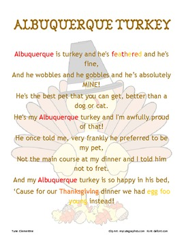 Turkey Song