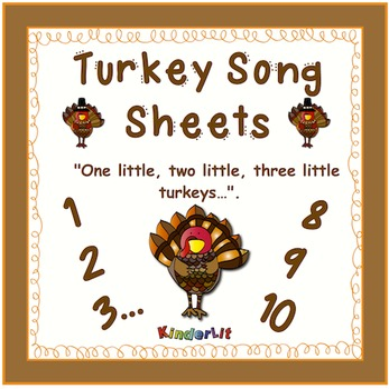 Turkey Song Sheet