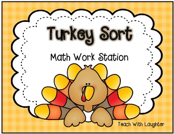 Turkey Sort (less than, more than, equal to 12)