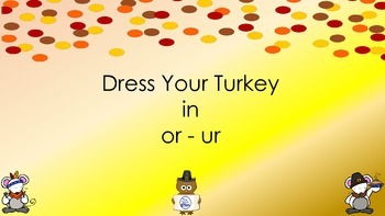 Turkey Sort - or - ur