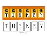 Turkey Spelling Speech Therapy Game