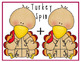 Turkey Spin Addition and Subtraction Math Center