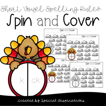 Turkey Spin and Cover Spelling Rules