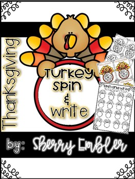 Turkey Spin and Write Number Order