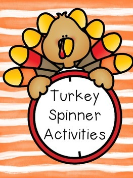 Turkey Spinner Activities