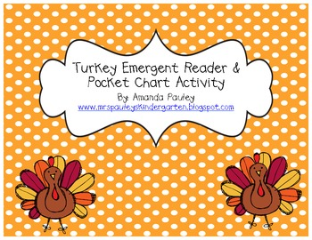 Turkey Story & Pocket Chart Activity