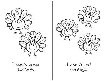 Turkey Story & Pocket Chart Activity