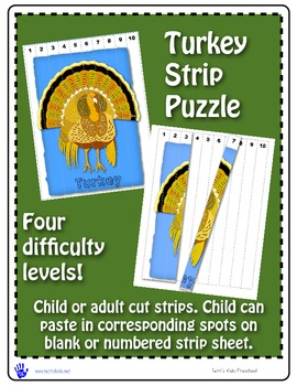 Turkey Strip Puzzle