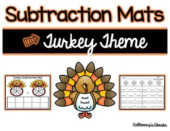 Turkey Subtraction Mat