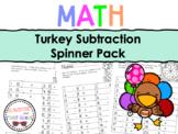 Turkey Subtraction Spinner Bundle