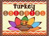 Turkey Synonyms