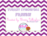 Turkey Synonyms Freebie