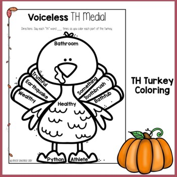 Turkey TH Articulation Practice