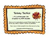 Turkey Tactics November Management Mini-Pack