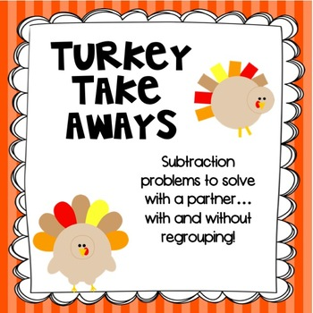 Thanksgiving Subtraction Fun!