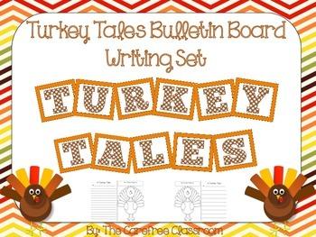 Bulletin Board Set: Turkey Tales