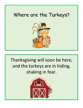 Turkey Talk! 3 Thanksgiving Activities for Speech and Language