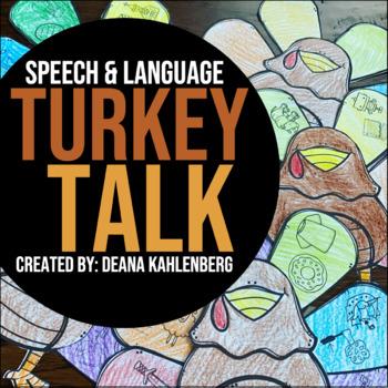 Turkey Talk {A No-Prep Craftivity}