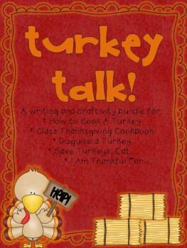 Turkey Talk! {A Writing Craftivity Bundle}