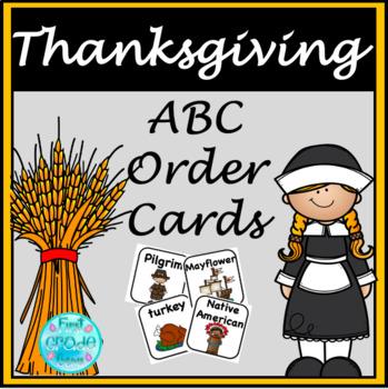 Turkey Talk ABC Order