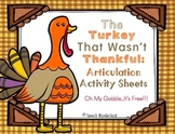 Turkey Talk Blog Hop...Oh My Gobble, It's FREE!
