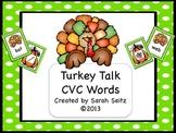 Turkey Talk CVC Words