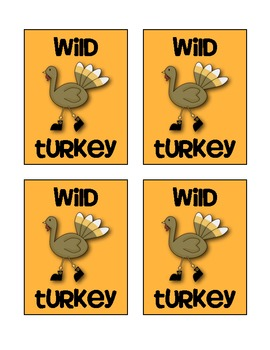 Turkey Talk Card Game {Greater Than, Less Than, Equal To}