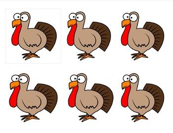 Turkey Talk -Conversation Starters- Social Skills {Thanksgiving}