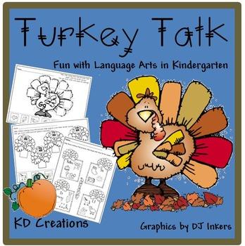 Turkey Talk   *Fun with Language Arts in Kindergarten*