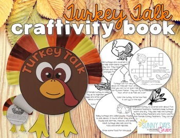 Turkey Talk {Informational text craftivity book}